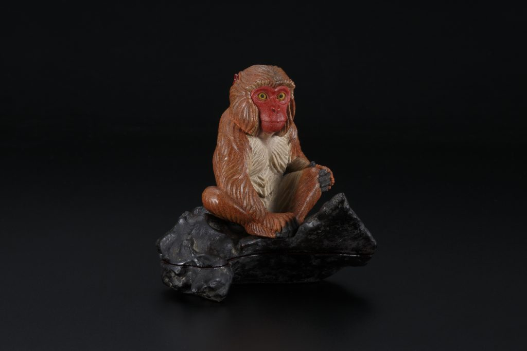 Monkey-shaped Incense Container