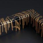 Black Robuchi With Design of a Willow in Maki-e