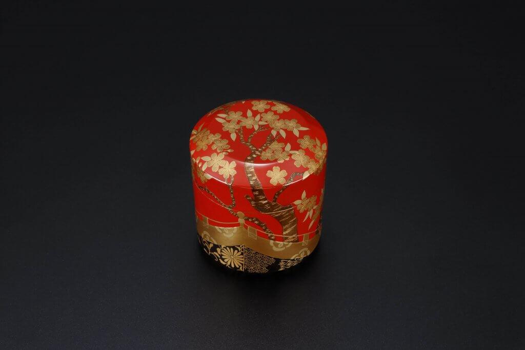 朱雪吹 桜狩蒔絵