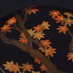 黒雪吹 紅葉狩蒔絵